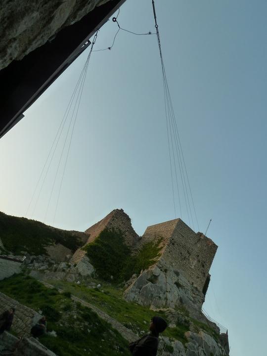 Radio Astronomy in the castle